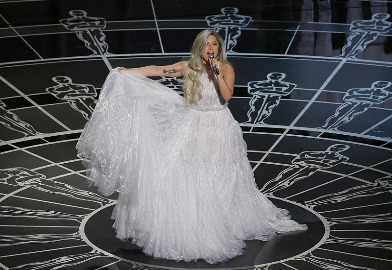 lady gaga sound of music oscars 2015