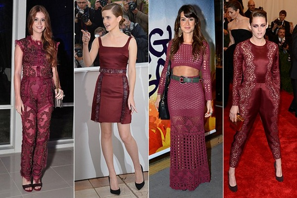 marsala a cor do ano nos looks