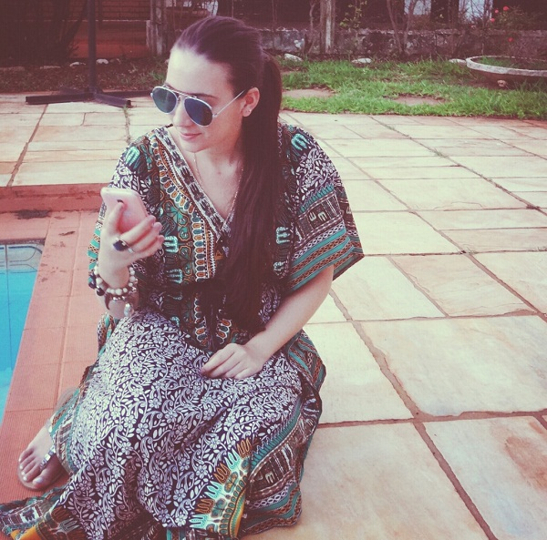 look do dia carol velloso vestido etnico dress indian