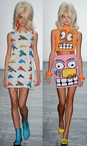 desfile jeremy scott ny fashion week moda sem limites