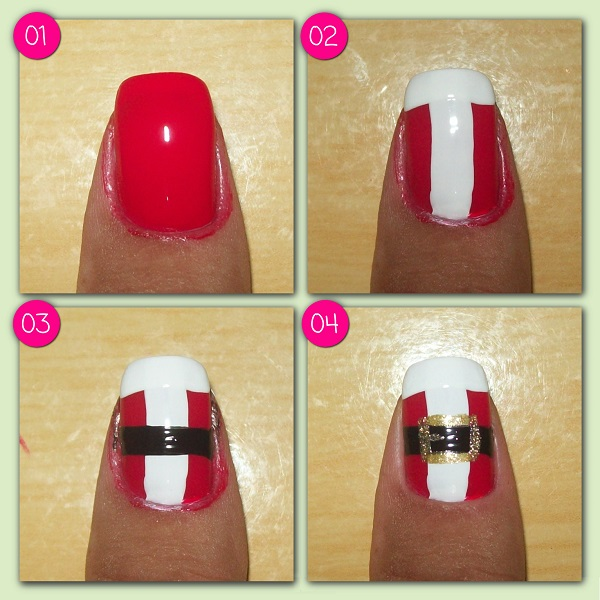 como decorar as unhas para o natal 2015