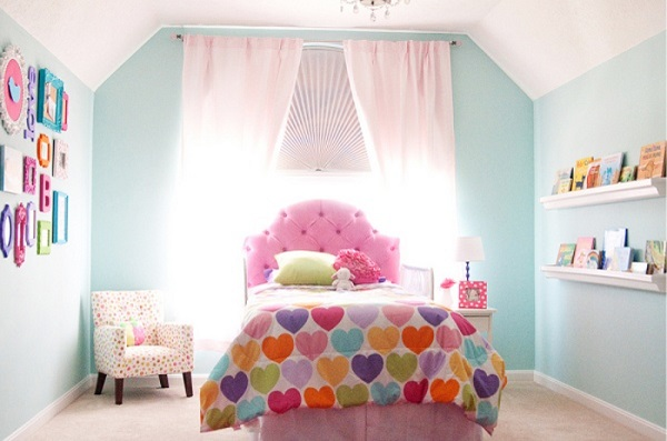 quarto de adolescente como decorar com rosa e azul candy colors