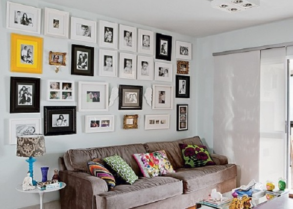 decorar com fotos