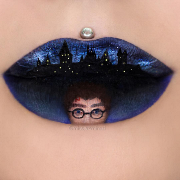 harry potter lip art