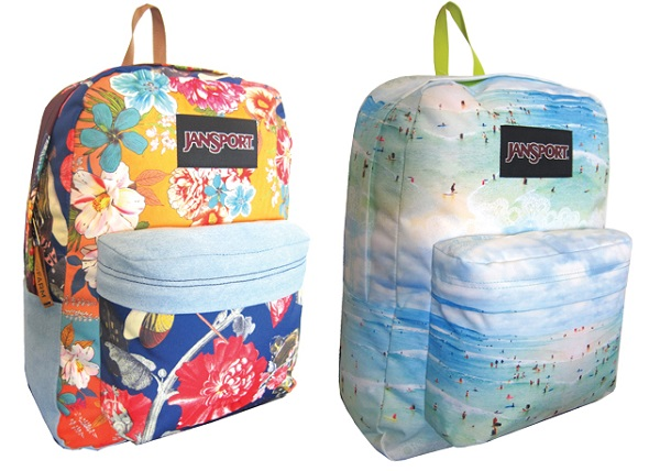 mochila praiana e patchwork jansport e farm 2016