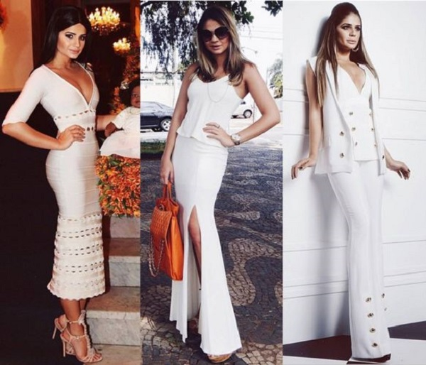yhassia naves blogueira look branco