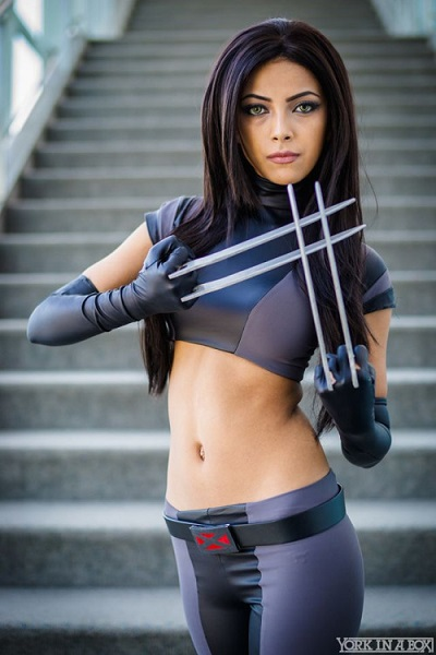 x 23 personagem cosplay x men marvel 2016 moda sem limites