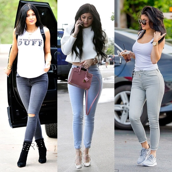 kylie jenner sexy dia a dia