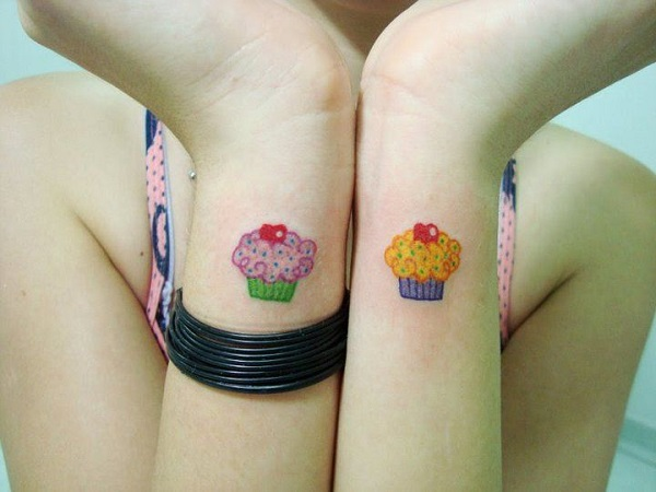 cupcake tattos divertidas