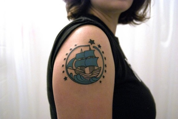 tattoo de navio