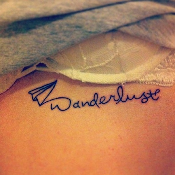 wanderlust travel love tattoo
