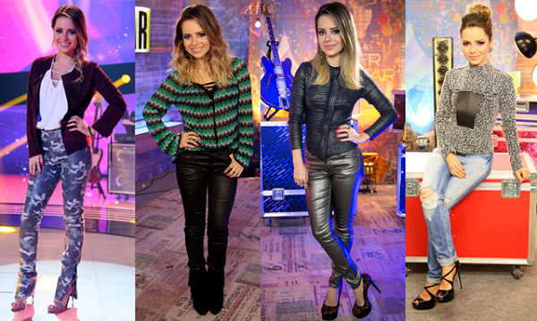 look rocher sandy como usar