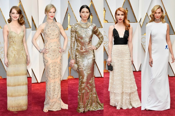 looks do oscar 2017