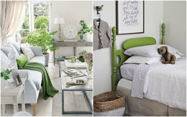 decor verde greenery 2017 trend