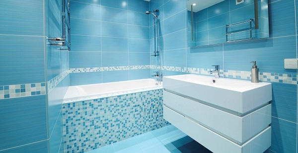 BATHROOM BLUE