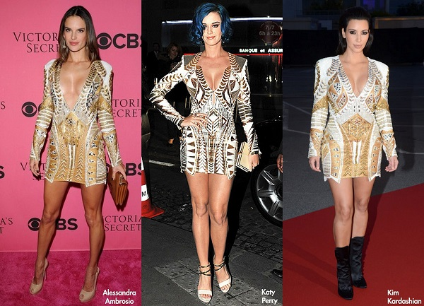 katy perry look das famosas balmain
