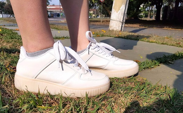look do dia carol velloso tenis branco