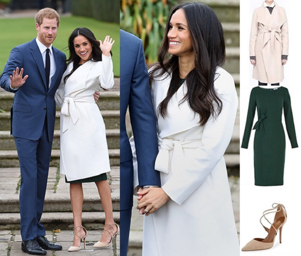 look noivado harry e meghan markle 2017