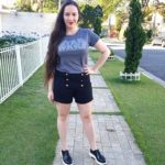 Look do Dia: Shorts Cintura Alta e Camiseta Star Wars!