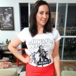 Look do Dia: Ano Novo Calça Flare e Camiseta Star Wars!