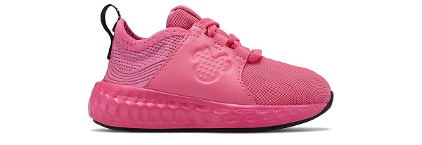 minnie tenis rosa new balance