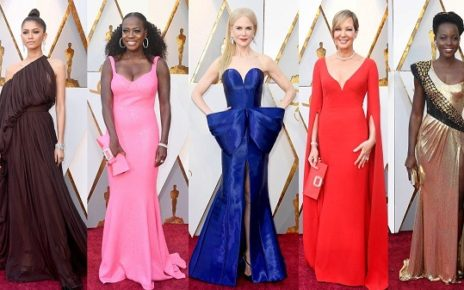 looks do red carpet oscar 2018