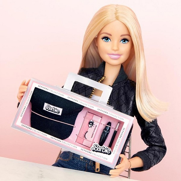barbie collection sephora make 2018