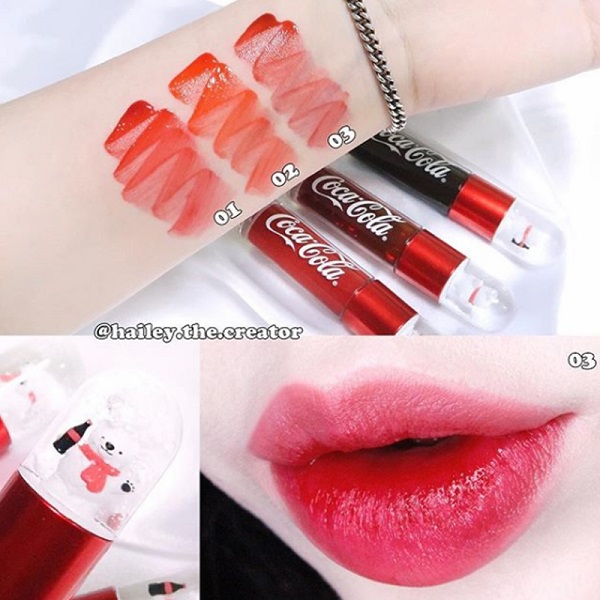 lip tint the face shop korea coca cola