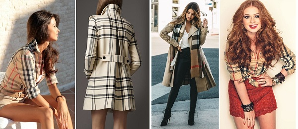 look burberry