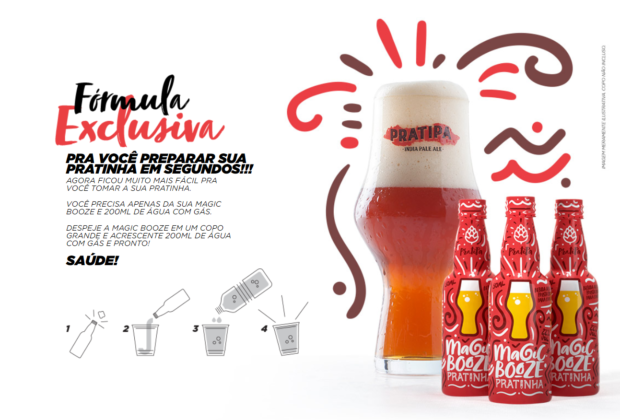 cerveja instantanea magic booze
